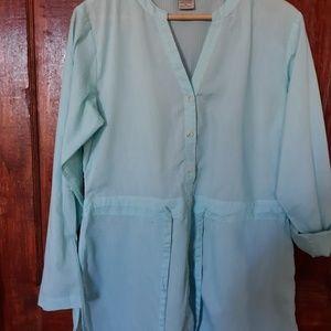 Exofficio button front, tie waist SPRING ready M